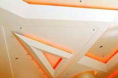 Het plafond steekt grafisch ontwerp aan Stock Fotografie