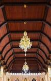 Het plafond thuis stock foto's
