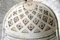 Het plafond van de bibliotheek stock fotografie