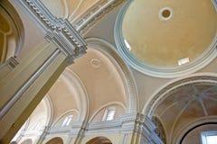 Het plafond van de kathedraal Stock Afbeelding