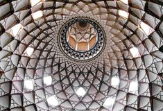 Het plafond van de koepel Royalty-vrije Stock Afbeelding