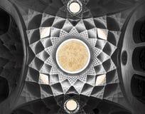 Het plafond van de koepel Royalty-vrije Stock Afbeeldingen