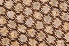 Het plafond van de zaal Plaza DE Espana verfraaide Stock Foto