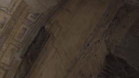 Het plafond van Domusaurea stock footage