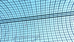 Het plafond van het GOMwinkelcentrum stock footage