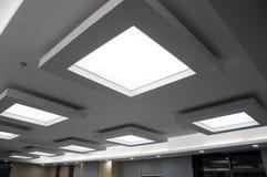 Het plafond van het bureau Stock Foto