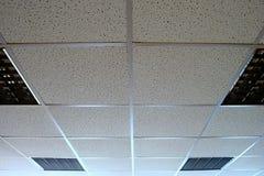 Het plafond van het bureau