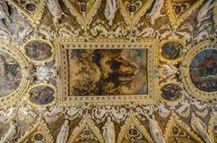 Het Plafond van het doge` s Paleis stock afbeelding