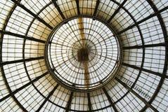 Het plafond van het glas Stock Afbeelding