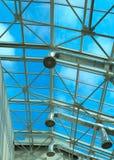 Het plafond van het glas Stock Afbeeldingen