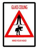 Het Plafond van het glas Stock Foto's