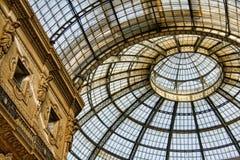 Het plafond van het glas Stock Foto