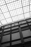 Het plafond van het glas van de schoolbouw Stock Afbeelding