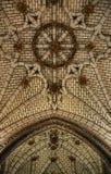 Het plafond van het paleis stock afbeeldingen