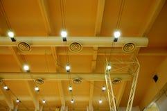 Het plafond van het stadion Stock Afbeelding