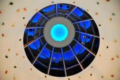 Het plafond van het winkelcomplex Royalty-vrije Stock Foto's