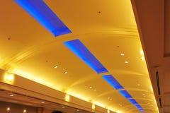Het plafond van het winkelcomplex Stock Afbeelding
