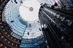Het plafond van Scyscraper Stock Afbeeldingen