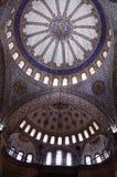 Het plafondornament van de moskee Stock Fotografie