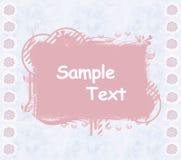 Het plakboekmalplaatje van Daisy Royalty-vrije Stock Afbeelding