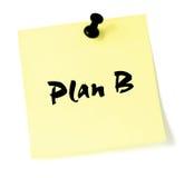 Het Plan B van de verandering vector illustratie