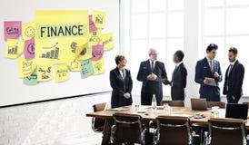 Het Plan die van de brainstormingsbespreking Grafisch Concept op de markt brengen royalty-vrije stock afbeelding