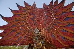 HET PLAN VAN DE BATIKcarnaval VAN 2015 SOLO Stock Afbeeldingen