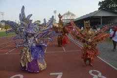 HET PLAN VAN DE BATIKcarnaval VAN 2015 SOLO Royalty-vrije Stock Afbeelding