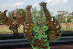 HET PLAN VAN DE BATIKcarnaval VAN 2015 SOLO Royalty-vrije Stock Foto