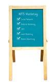 Het plan van de Marketing van het WEB royalty-vrije stock foto