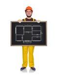 Het plan van de tekeningsflat Royalty-vrije Stock Afbeeldingen