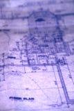 Het Plan van de vloer stock afbeeldingen