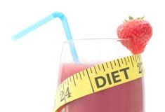 Het plan van het dieet Stock Fotografie
