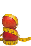 Het Plan van het dieet Royalty-vrije Stock Fotografie