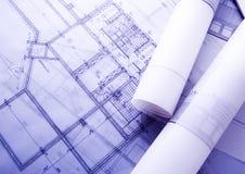 Het plan van het huis Royalty-vrije Stock Fotografie