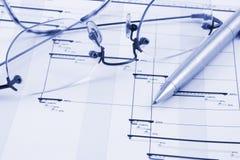 Het Plan van het project Stock Foto