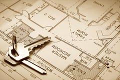 Het plan van Housse Royalty-vrije Stock Fotografie