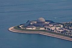 Het Planetarium Chicago van Adler Stock Foto's