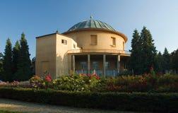 Het planetarium van Praag stock afbeeldingen