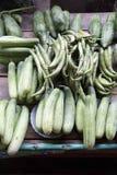 Het plantaardige verkopen in markt Royalty-vrije Stock Afbeelding