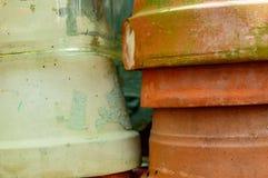 Het planten van Potten Royalty-vrije Stock Foto