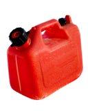 Het plastic Gas kan Stock Foto's