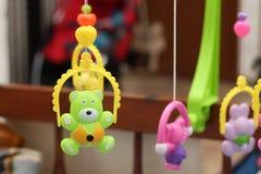 Het plastic speelgoed, a-stuk speelgoed is een punt dat in spel, versie 1 wordt gebruikt royalty-vrije stock foto's