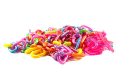 Plastic kettingsstuk speelgoed Stock Afbeeldingen