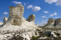 Het Plateau van Aktolagay royalty-vrije stock foto