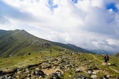 Het plateau van Bucegi Royalty-vrije Stock Afbeelding