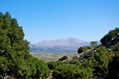 Het plateau van de berg. Stock Afbeeldingen