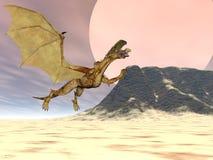 Het Plateau van de draak Stock Foto