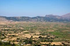 Het Plateau van Lassithi. Stock Foto