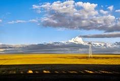 Het Plateau van Tibet Royalty-vrije Stock Afbeelding